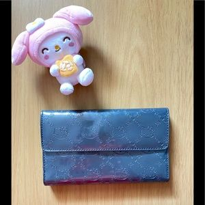 Loungefly Hello Kitty Patent Tri Fold Wallet